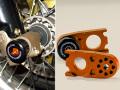 KTM 450 / 525 /560 SMR (03-12)用 フロント&アクスル ブロック スライダー
