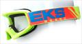 X-Brand キッズ用ゴーグル ''X-GROM'' Safetyフローイエロー