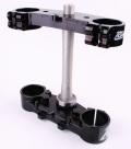 RIDE ENGINEERINGトリプルクランプキット YZ450F  YZ125/250F ブラック 22mm オフセット