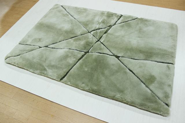 【ファクトリーアウトレット:在庫処分】【送料無料】 AUSKIN ムートンラグ 「嵯峨野」 120×180cm