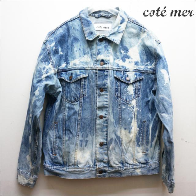 COTE MERのデニムジャケット