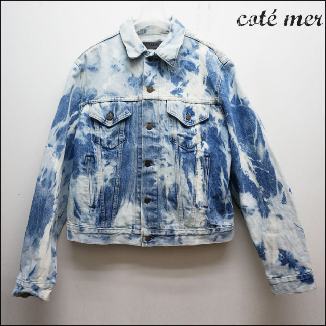 COTEMERのリメイクデニムジャケット