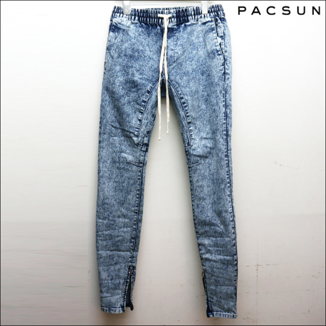 PACSUNのジップジョガーパンツ