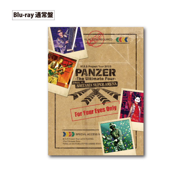 M.S.S Project Tour 2019 PANZER - The Ultimate Four - FINAL atさいたまスーパーアリーナ Blu-ray[2枚組]【通常盤】