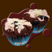 チョコストロベリー&オレオマフィン