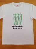 ししゃもオリジナルTシャツ ホワイト