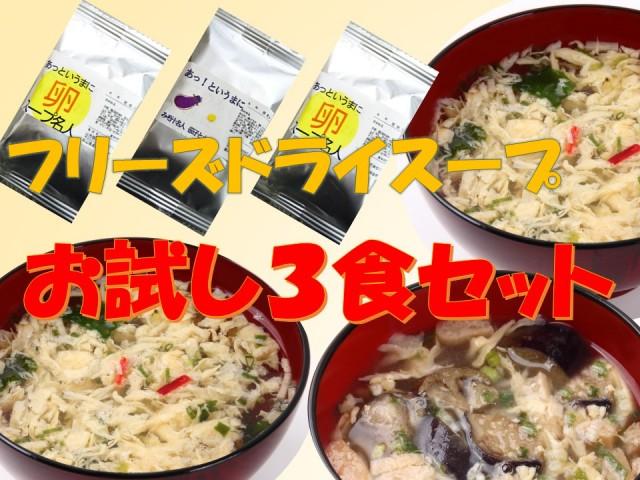 あっ!というまにスープ名人お試しセット(3個入) 【山元醸造/1567】