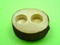 オオクワガタに最適なワイドカップ専用エサ皿2個穴の販売
