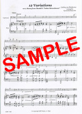 12 Variations(L.van Beethoven) - 12の変奏曲 (L.ベートーヴェン)