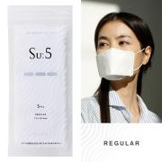 Su:5 スー マスク REGULAR 1袋(3個入り) 5層フィルター YAYA ヤヤ 男性 女性