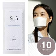 Su:5 スー マスク REGULAR 10袋(30個入り) 5層フィルター YAYA ヤヤ 男性 女性