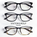 VIKTOR&ROLF ヴィクター&ロルフ スクエアウェリントンフレーム メガネ 度付き 伊達 70-0153