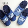 JARLD ジャールド 阿波しじら織り バブーシュ スリッパ ルームシューズ おしゃれ 日本製 ブランド メンズ