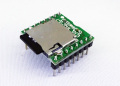 MK-156 超小型。ロボットなどに最適!アンプ内蔵でmicroSDカード付き!多機能MP3/WAVボイスプレーヤーモジュール