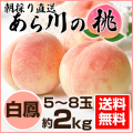あらかわの桃 白桃 2kg