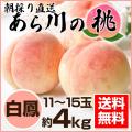 あらかわの桃 白桃 4kg