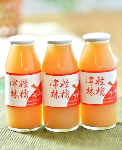 niccori商品番号23[あっぷりんご園]あっぷりんご園 ストレートピュア りんごジュース180ml瓶12本入り/APR006
