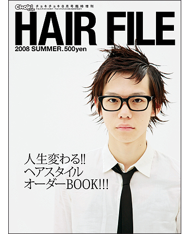 HAIR FILE '08 SUMMER