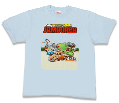 VWs TシャツVol.2 Jamboree2nd model