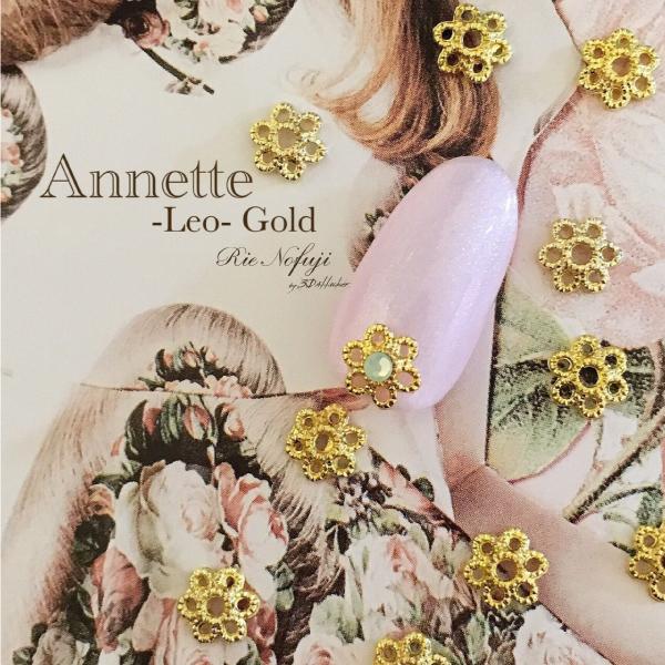 Bonnail×RieNofuji Annette Leo Gold 6mm