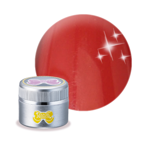【販売終了】【LEAFGEL PREMIUM】  カラージェル 008 M 4g  ルージュ・ブトン