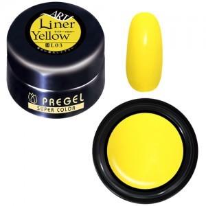 PREGEL カラーEX PG-CEL03 4g ライナーイエロー
