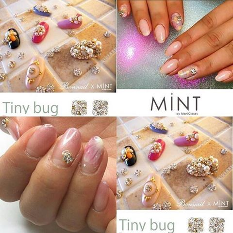 Bonnail×MINT Tiny bug シルバー4mm
