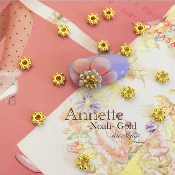 Bonnail×RieNofuji Annette Noah Gold 4.5mm