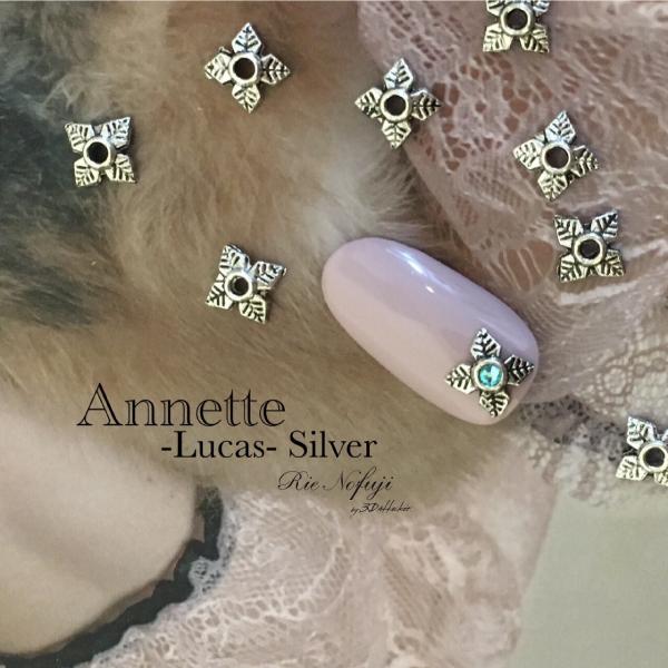 Bonnail×RieNofuji Annette Lucas Silver 6mm