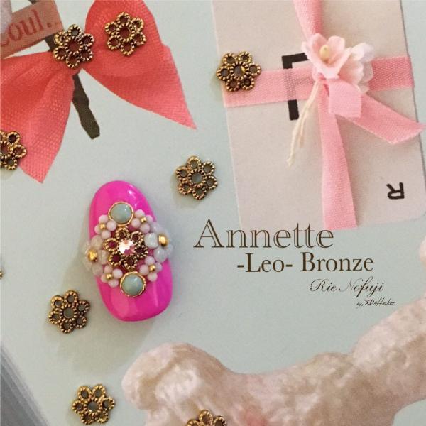 Bonnail×RieNofuji Annette Leo Bronze 6mm