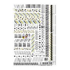エムプティ オリジナルパーツ カーブシリーズ バタフライ シルバー×クリスタル A045