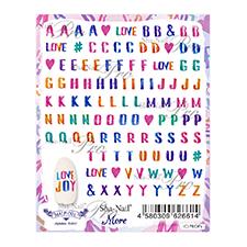 写ネイルMore アルファベット(カラー)