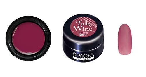 PREGEL カラーEX PG-CE857 3g 【シアー】 チュールワイン
