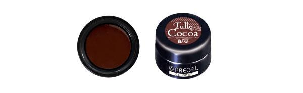 PREGEL カラーEX PG-CE858 3g 【シアー】 チュールココア