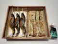 子持鮎塩焼き国産鰻白焼き(タレ山椒付属)化粧箱入りセット 各2尾入り,3尾入りご用意しています