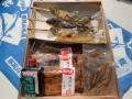 国産鰻蒲焼き・肝煮・骨せんべい(タレ,山椒付属),鮎塩焼きセット(化粧箱入) 各2尾入,3尾入ご選択頂けます