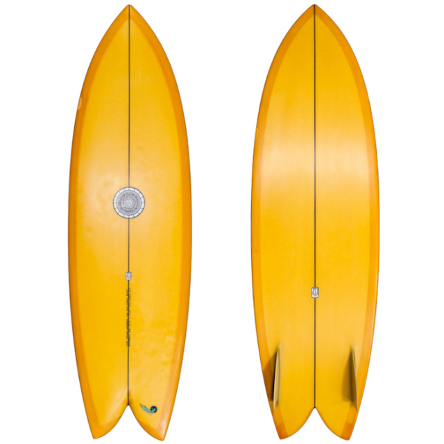 "【中古優良品】 TYLER WARREN DREAM FISH 5'8"" x 19-1/2"" x 2-1/4""  【商品グレード】★★★☆☆"