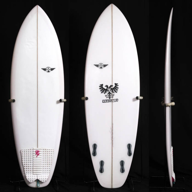 "【中古優良品】CHEVY DLX for NAKI 5'4"" x 19-5/8"" x 2-1/4"" 【商品グレード】★★★☆☆"