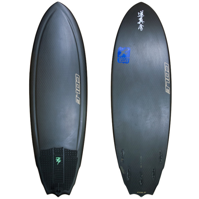 "【中古極上品】 AVISO PRAYING MANTIS GOLD LABEL BLACK PRO 5'4 x 19-1/4"" x 2-5/16""  【商品グレード】★★★★☆"