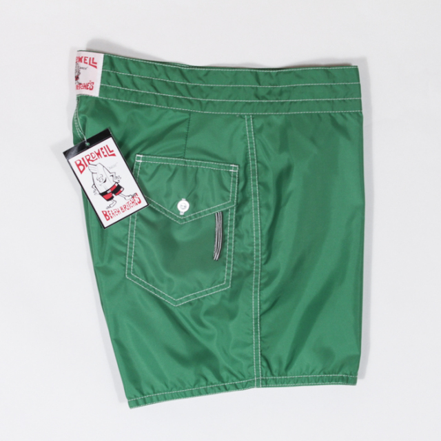 "BIRDWELL #310(14.5~18"" length) BEACH BRITCHES SHORTS 「KELLY GREEN」"