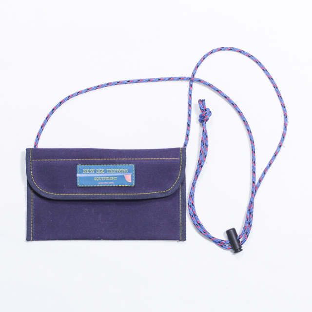 NEW AGE TRIPPERS FES WALLET NAVY