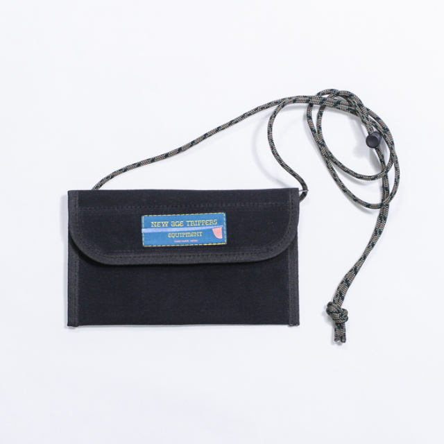 NEW AGE TRIPPERS FES WALLET BLACK