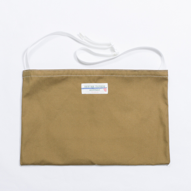 NEW AGE TRIPPERS S&M BAG KHAKI
