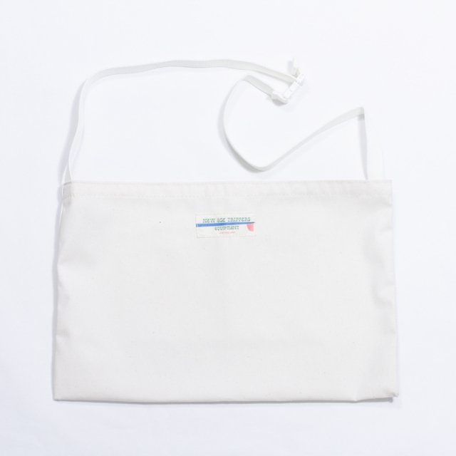 NEW AGE TRIPPERS S&M BAG WHITE