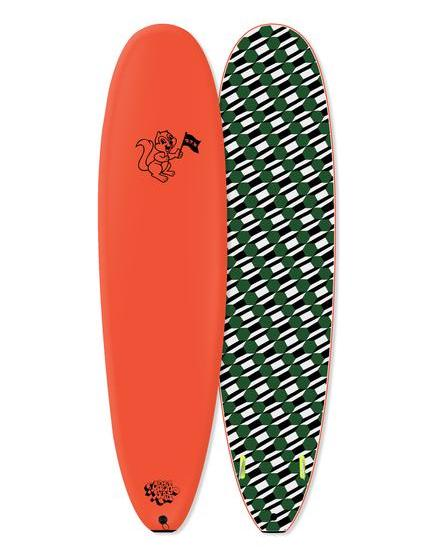 "BARRY MCGEE Proモデル 8'0"" side bite fin / NEON ORANGE 【6月入荷予定】"