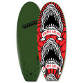 "�����ͽ���CHIPPA WILSON STUMP PRO QUAD FIN��5'0"" x 21-1/2"" x 2-1/2""����7���ܺ�Ǽ��ͽ�� �ڹ�����������ɬ�ס�"