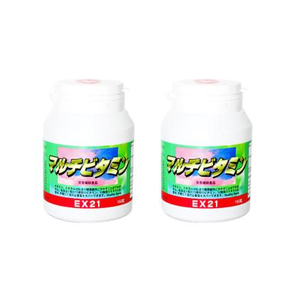EX21シリーズ マルチビタミン 2個【ビタミン】【ミネラル】【レビューで送料無料】[p10]