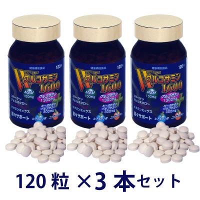 Wグルコサミン1600 3個セット[p10]