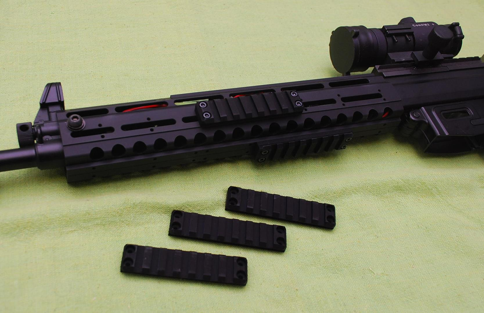 OTS 89式小銃用レール式被筒  89式用レールハンドガード実銃用電動可