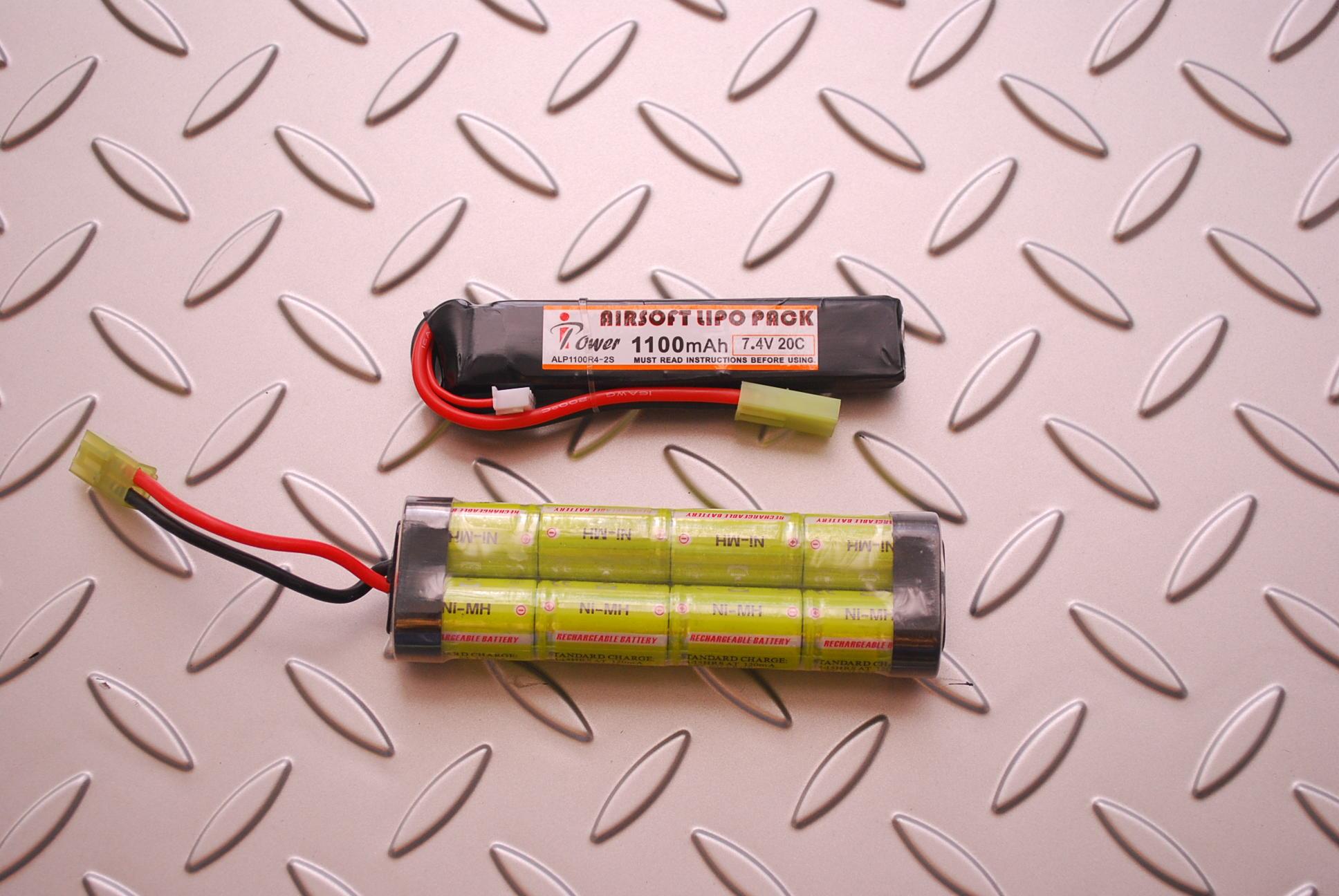 Ipower製 1100mAh 7.4V20C LiPoバッテリー(ストックイン)